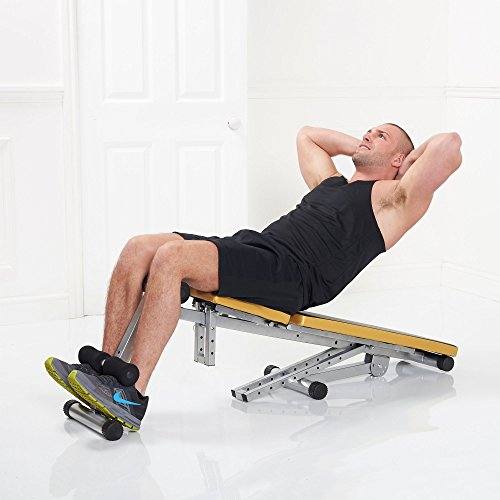 Gold coast weight training multiuse home gym adjustable